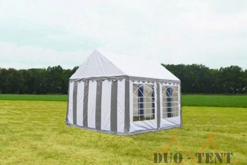 Partytent 3x4 Classic brandvertragend PVC - Beige / wit