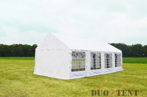 Partytent 3x8 Classic brandvertragend PVC - Wit