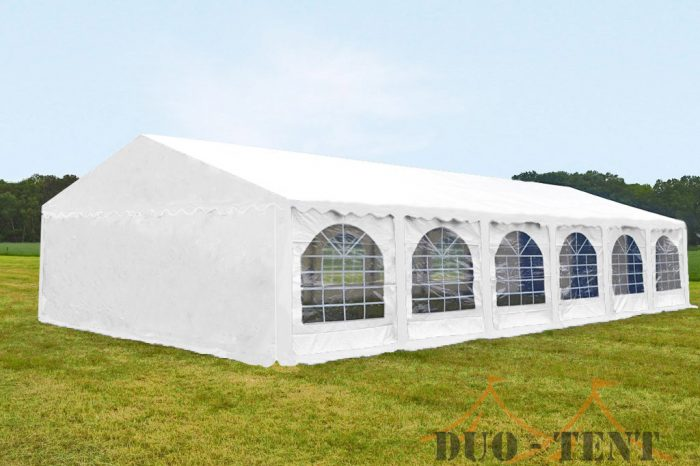 Partytent 8x12 Premium brandvertragend PVC - Wit