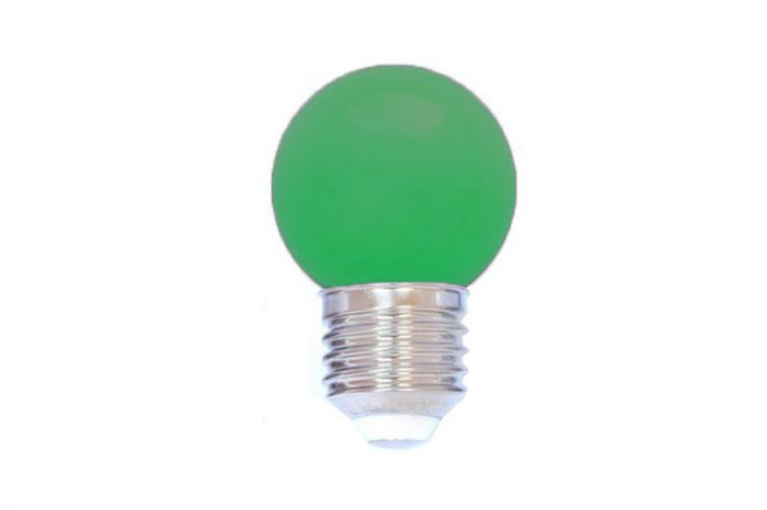 led lamp e 27 groen